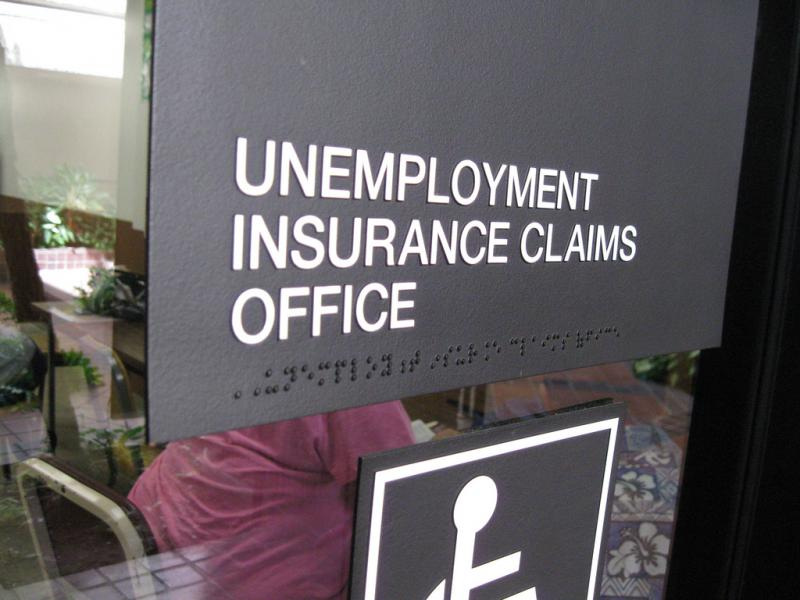 photo of unemployment office
