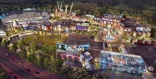 Hall of Fame Village plan