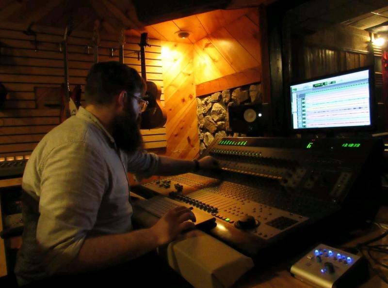 David Mayfield at Sweetside Recording Company