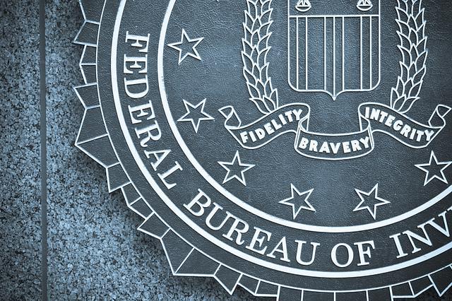 photo of FBI plaque