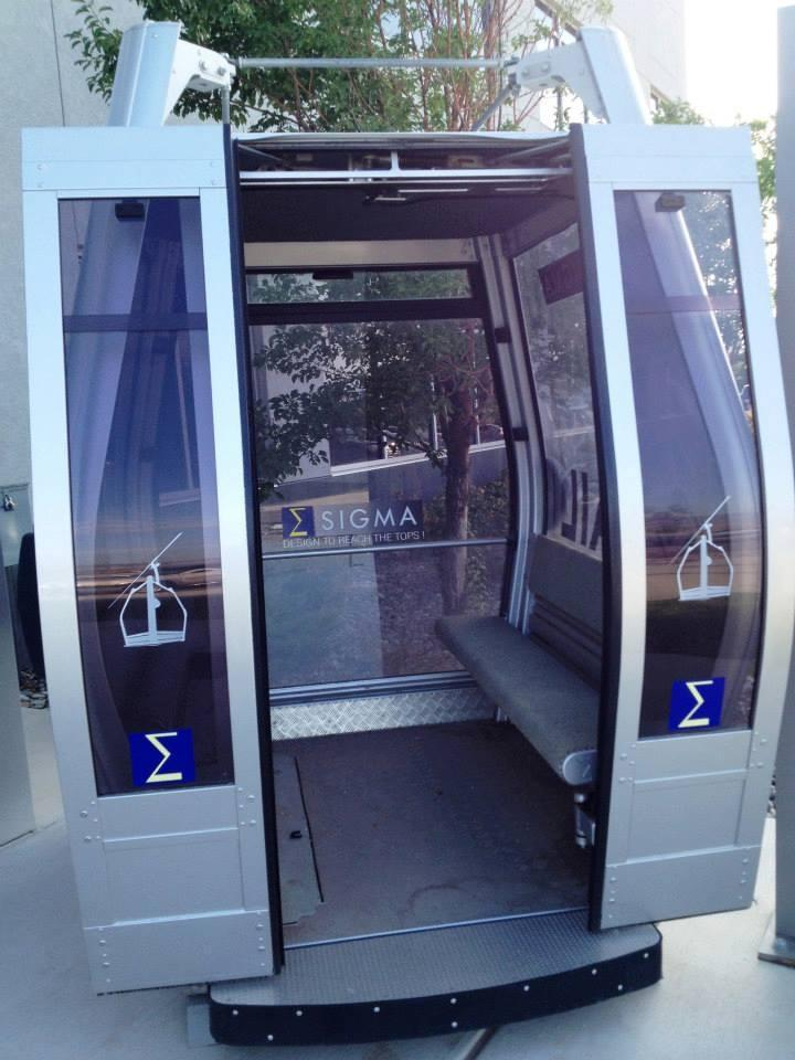 photo of SkyLift cable car