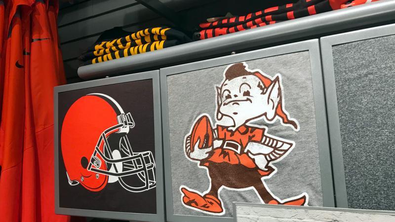 photo of Browns shirts