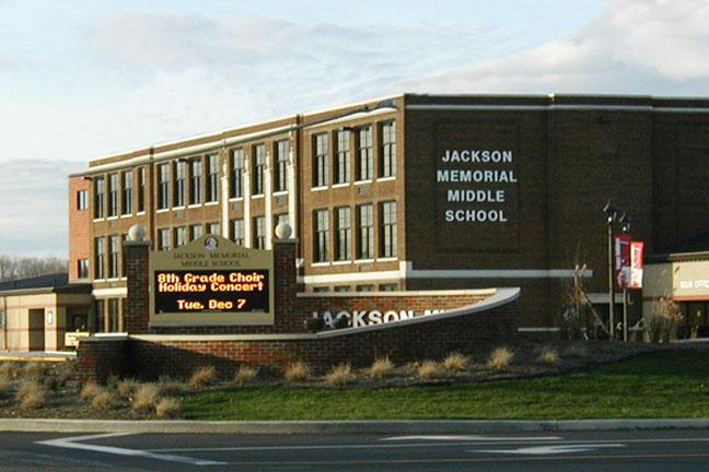 photo of Jackson Memorial Middle School