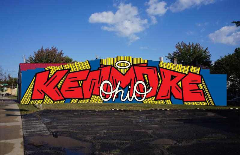 photo of Kenmore, Ohio mural submission