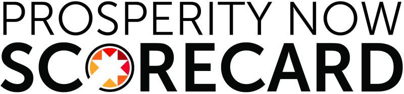 The logo for Prosperity Now's Scorecard.
