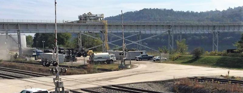 Pier 48, intermodal transportation loading facility
