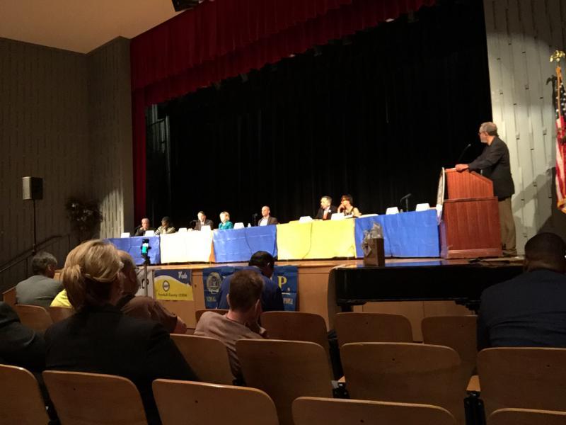 photo of Democratic gubernatorial candidates