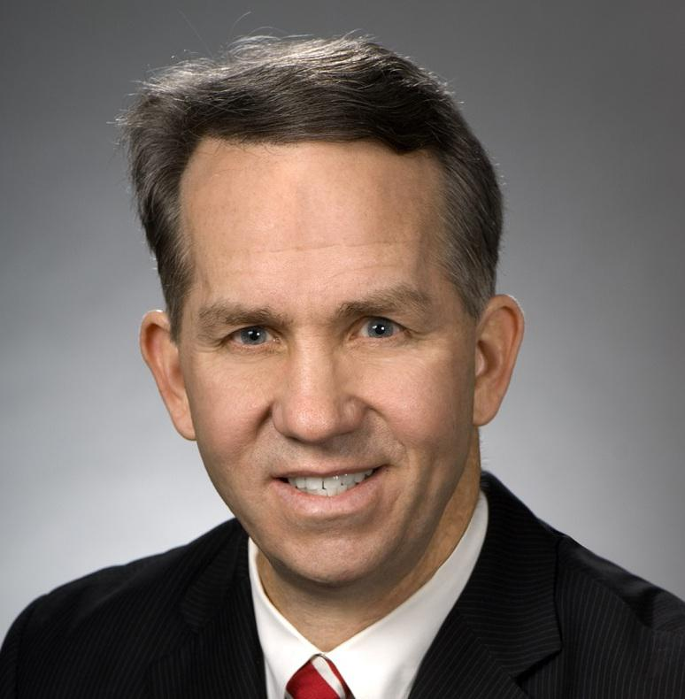 A headshot of Rep. Andy Thompson of Marietta, in the running for House Speaker.
