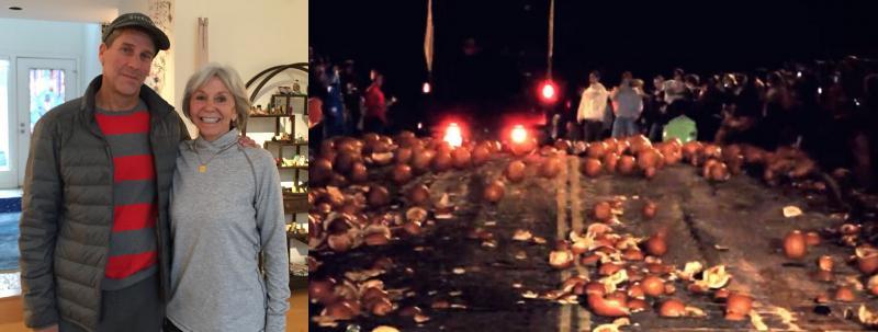 Steve Belkin, Fran Belkin, Chagrin Falls pumpkins