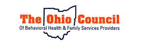 The logo of The Ohio Council Of Behavioral Health and Family Services Providers.