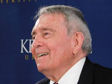 Photo of Journalist Dan Rather