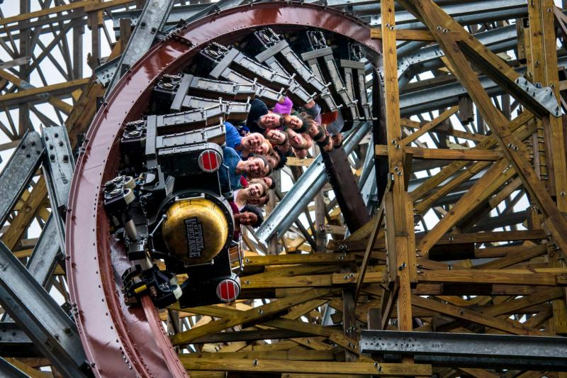 Steel Vengeance is the world's tallest hybrid roller coaster.