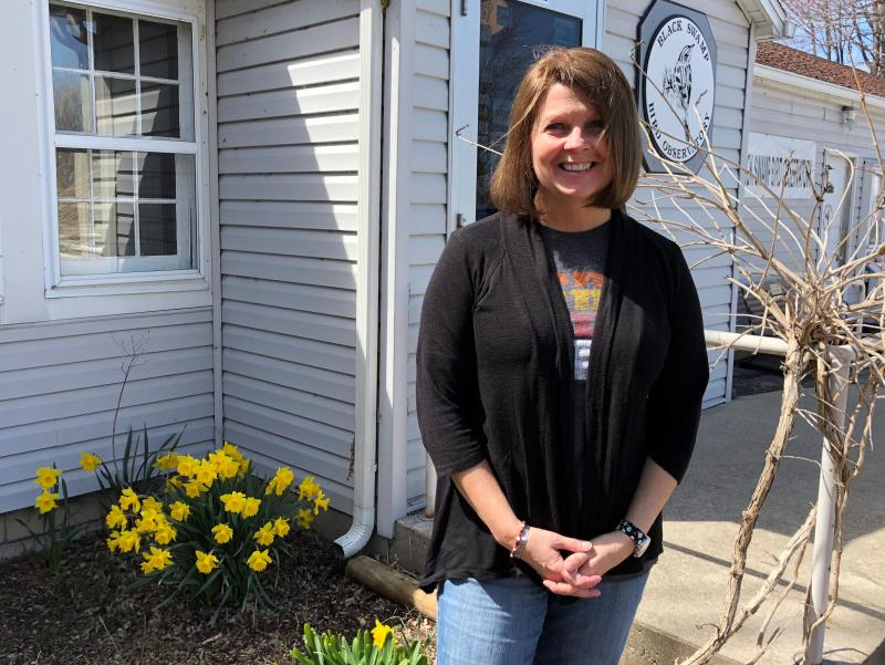 Kim Kaufman is executive director of the Black Swamp Bird Observatory which hosts the Biggest Week in American Birding celebration every May to mark the arrival of rare migrants to Northwest Ohio.