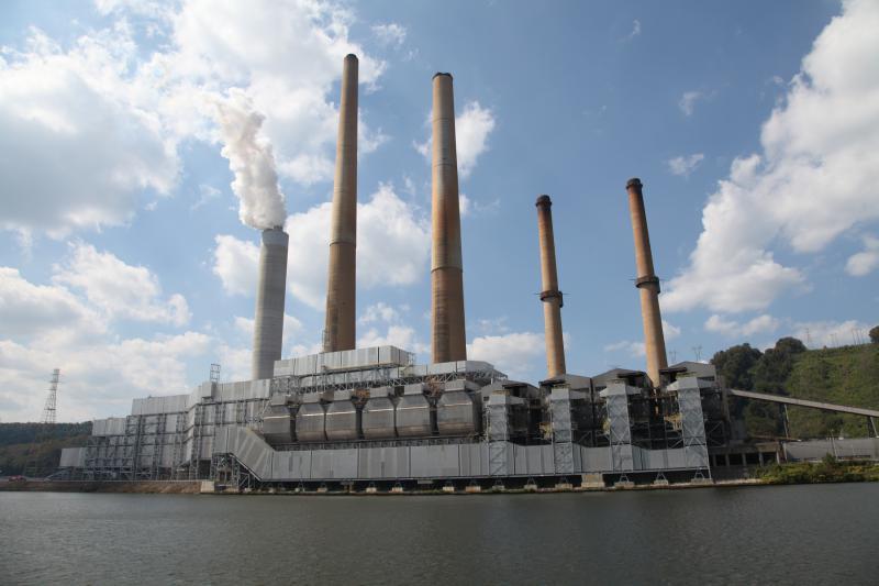photo of coal plant