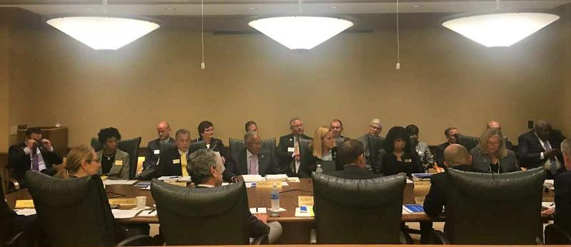 Kent State Trustees meeting September 12, 2018