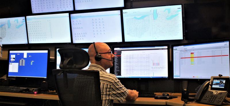 MARCS operations, Ohio Administrative Services Division