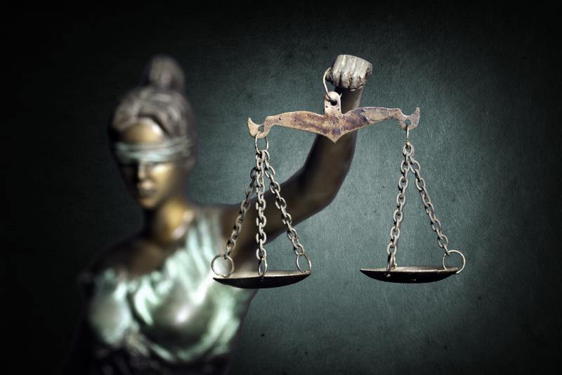 photo of lady justice