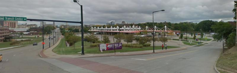 photo of METRO RTA transit center in Akron