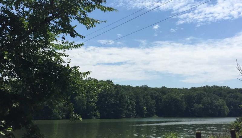 Mogadore Reservoir near the dam