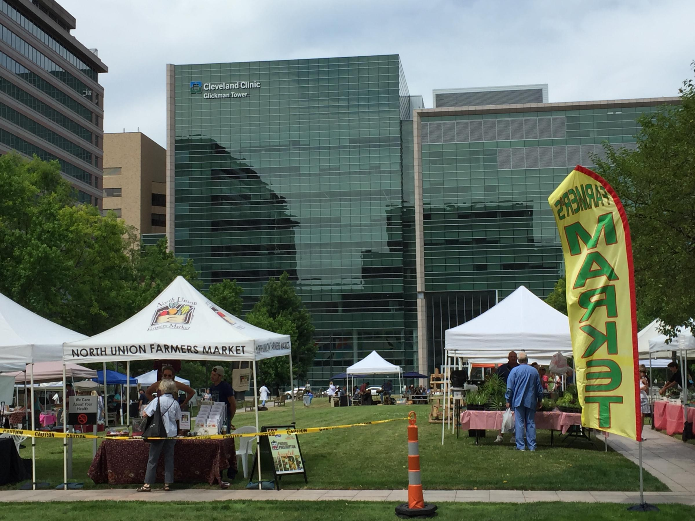 Fruits, Veggies and Healthy Advice at The Cleveland Clinic