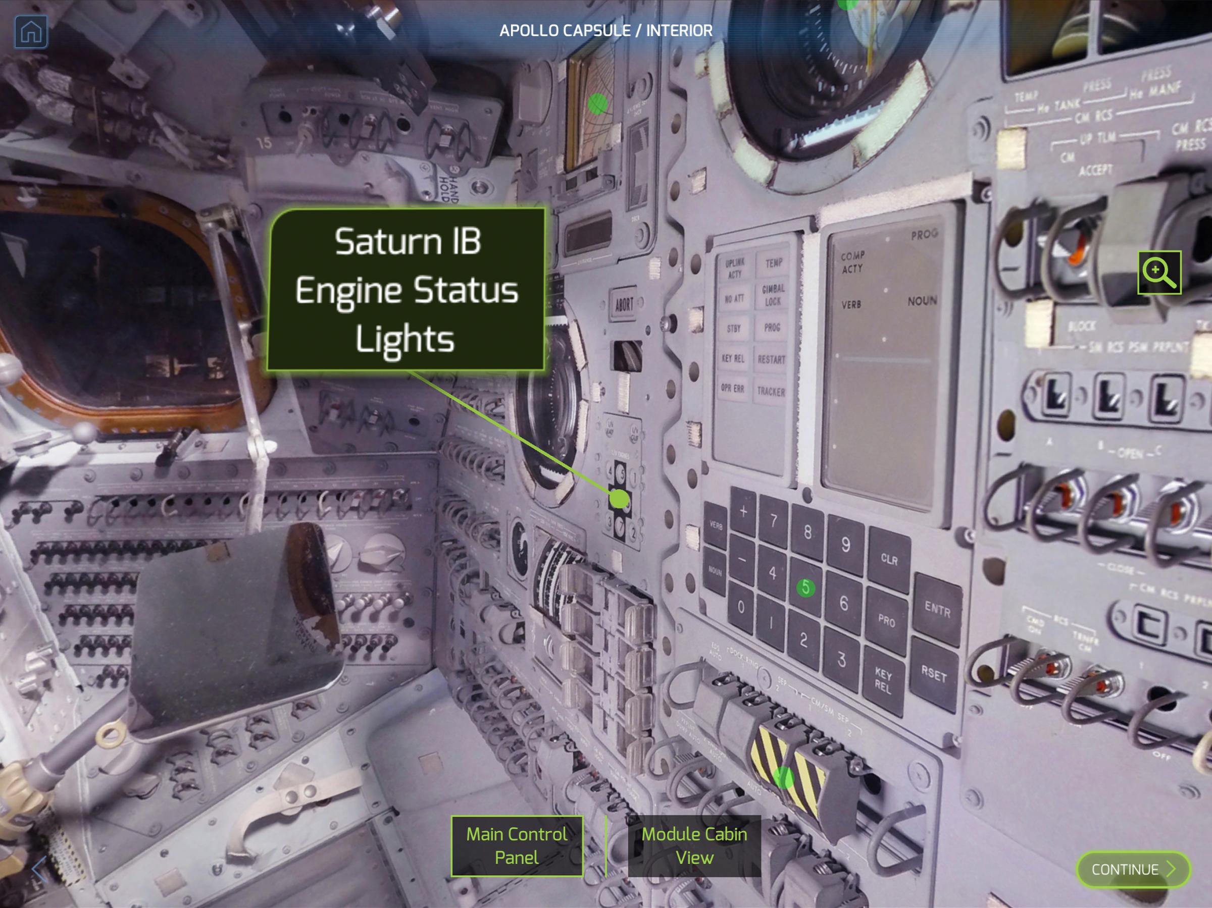 apollo capsule interior - HD2400×1799
