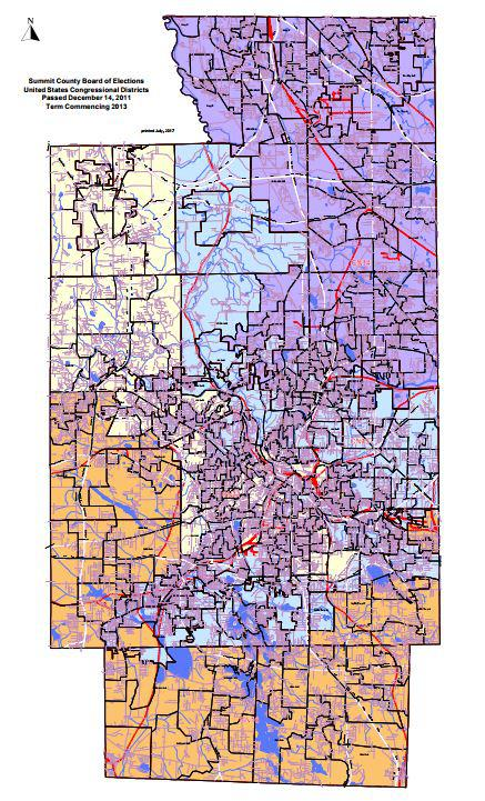 Summit County Has Four Congressional Districts But Not A Member Of