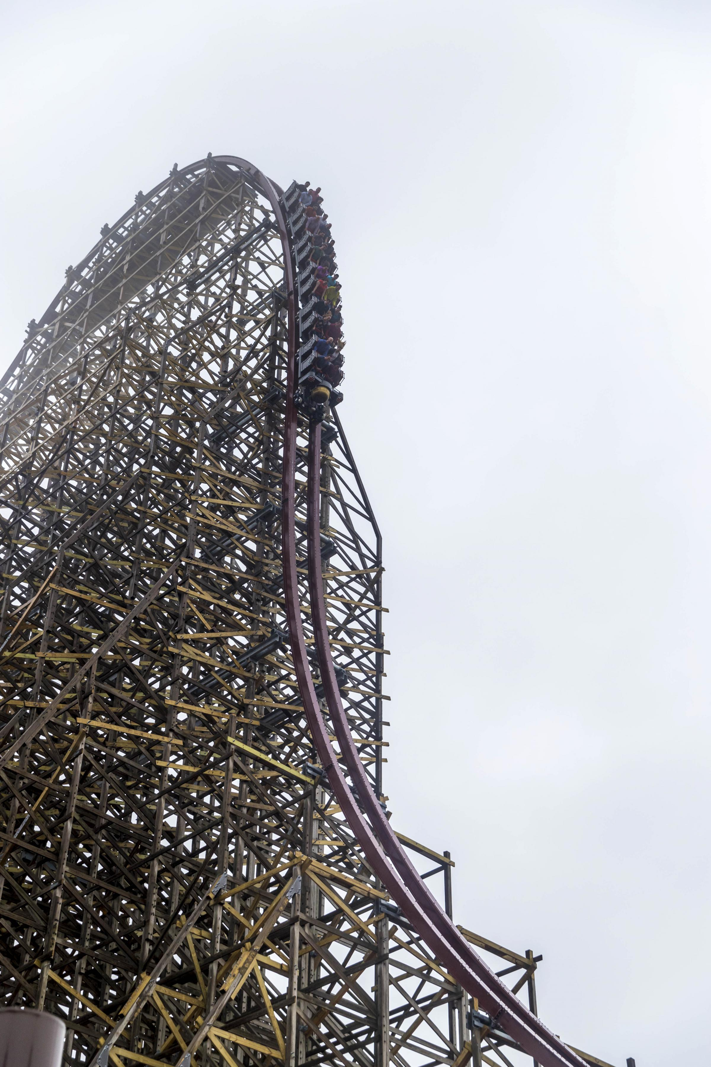 State Of The Arts A New Kind Of Wooden Coaster Twists And Turns At