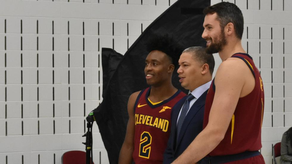 5cb6484d97bd Cleveland Cavaliers Without LeBron James Look To Win