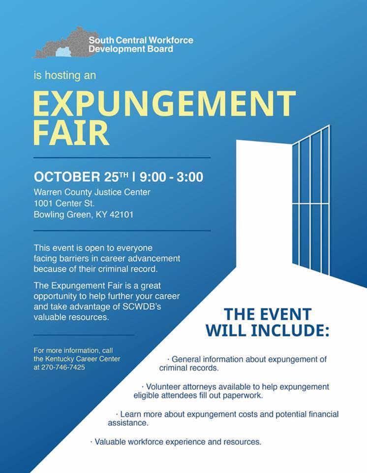 Expungement Fair Aimed at Forgiving Felons, Filling Jobs | WKU