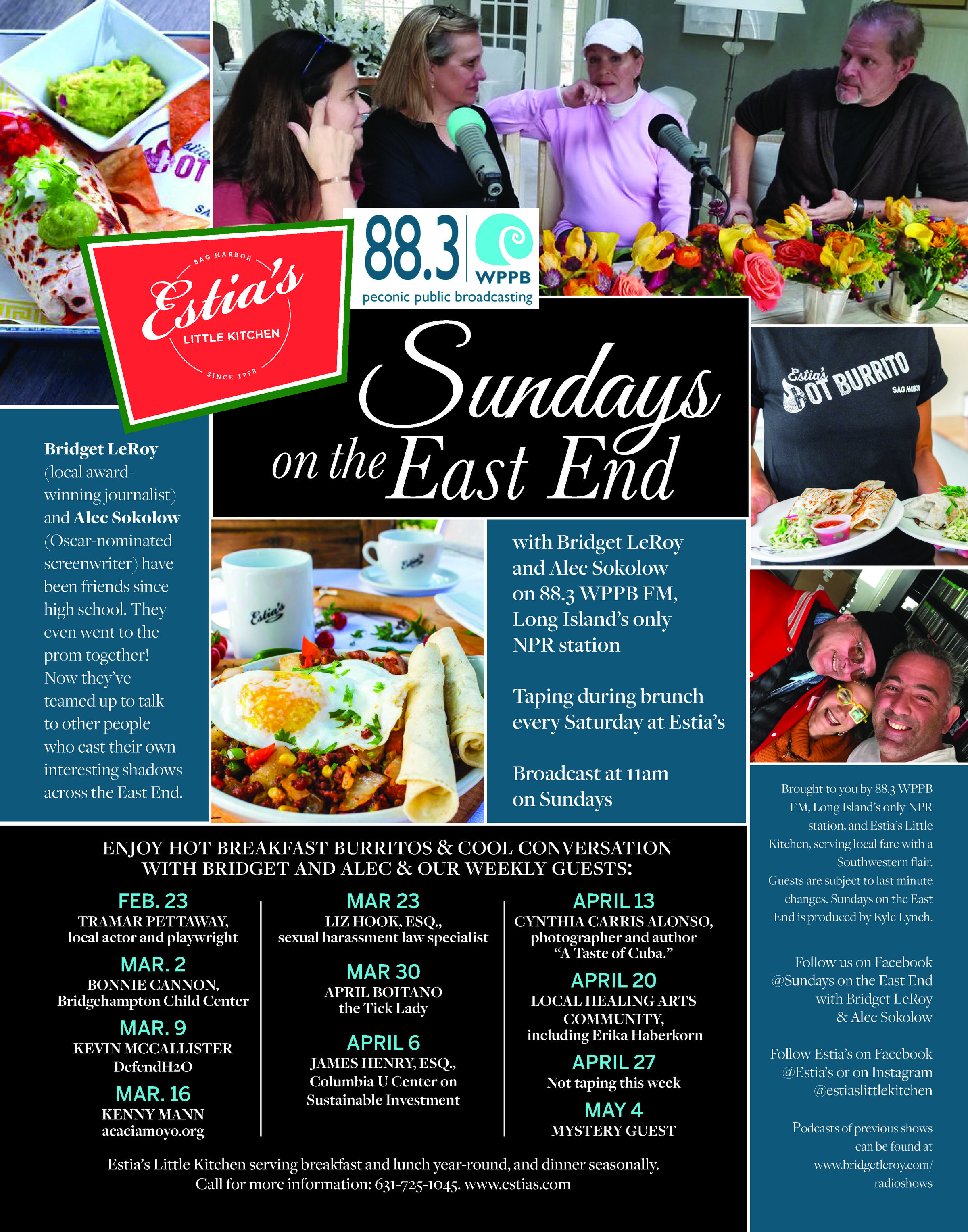 Sundays on the East End | WPPB