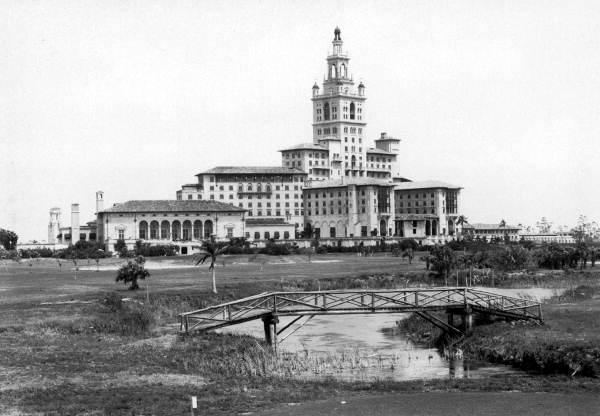 Looking East Over The Golf Course At Miami Biltmore Hotel