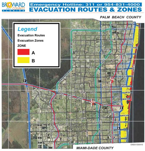 are you in an evacuation zone? here is how to know | wgcu news