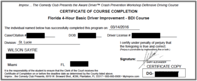 aaa driver improvement program test answers