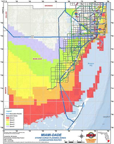 miami dade county zip codes map - maps for you