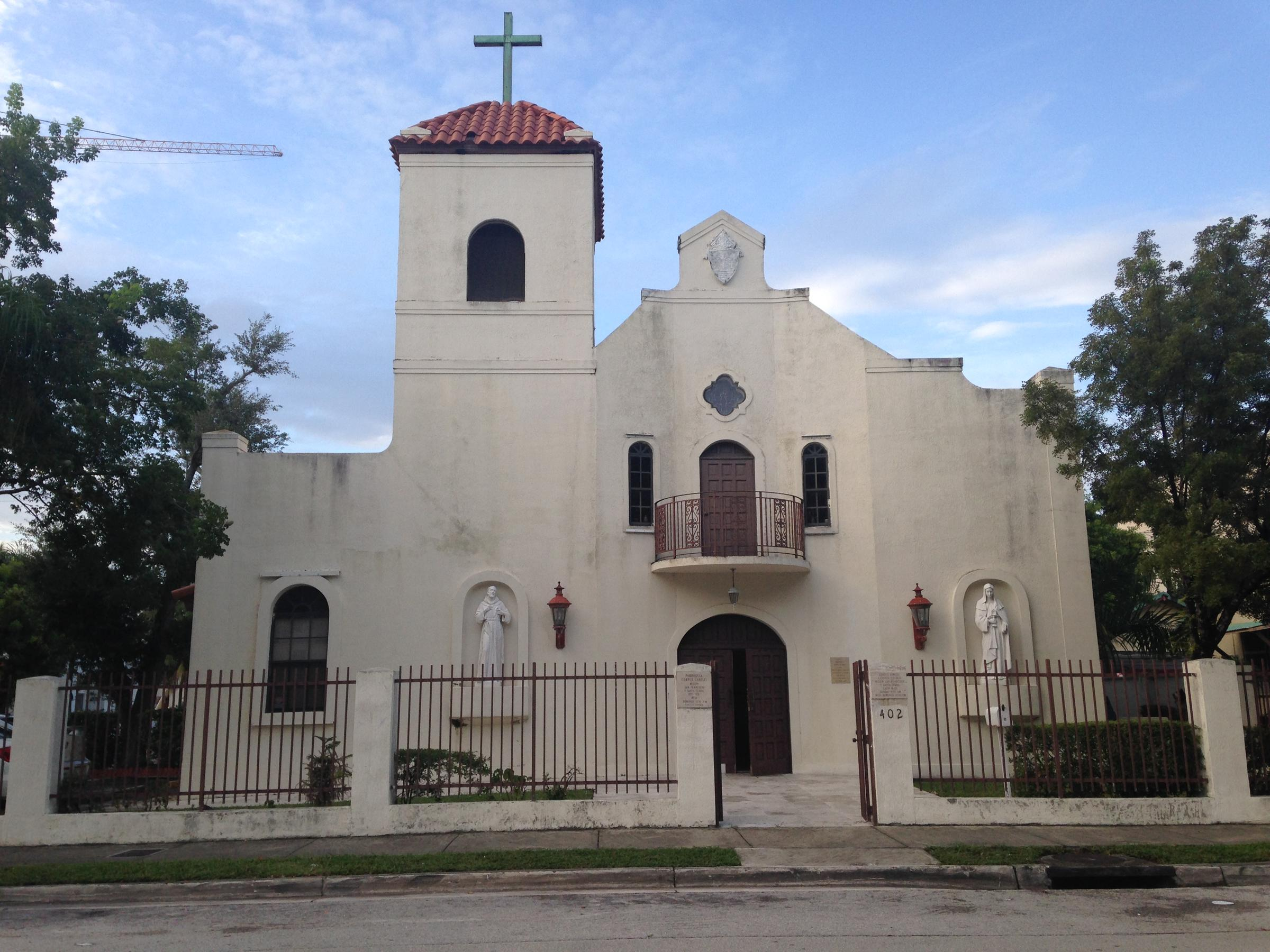 The Mission Of Saints Francis And Clare Holds Traditional Latin M Every Sunday At 402 Ne 29 St In Miami