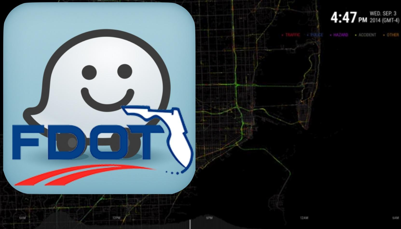 Blazing The Waze: FDOT Is The Traffic App's First U S