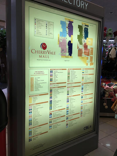 Cherryvale Mall Map Cherryvale Mall Tightens Rules On Unaccompanied Minors Shopping  Cherryvale Mall Map