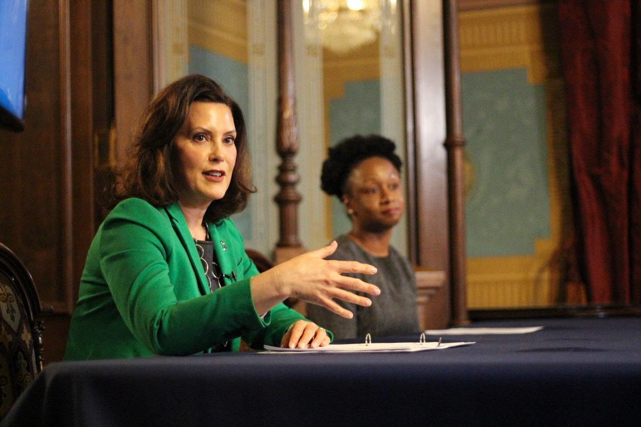 Whitmer extends Michigan's stay-at-home order