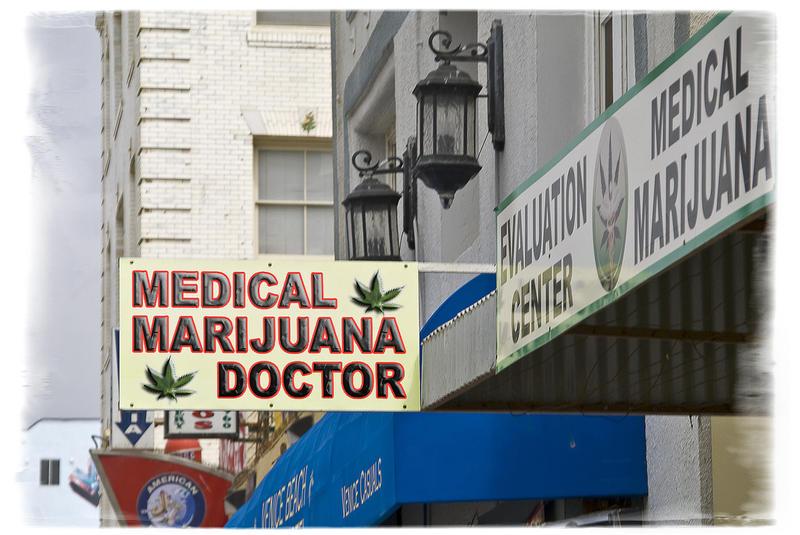 California Health Care, Medical Marijuana Dispensary DAMIAN GADAL CREATIVE COMMONS