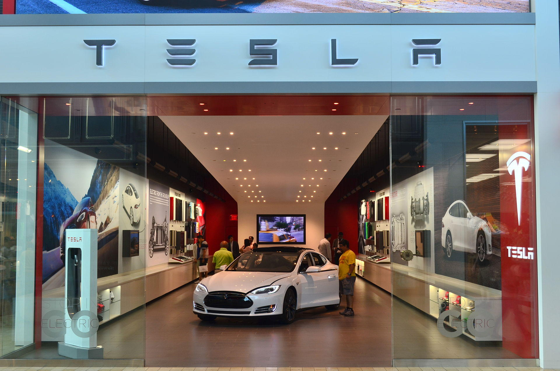 For Tesla a Fight in Connecticut to Open Stores and Sell Cars