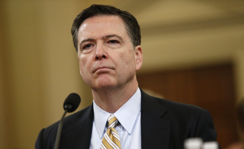 Image result for former FBI Director James Comey