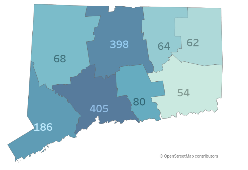 Where In Connecticut Are Overdoses Driving Hospital Visits