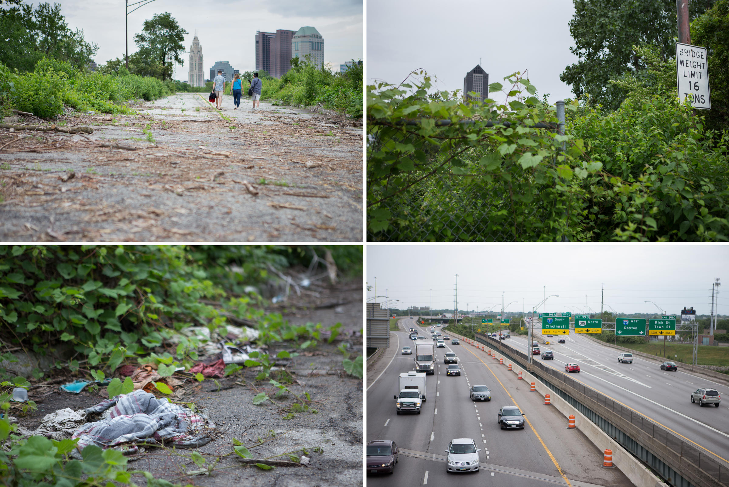 Curious Cbus: Why Is There An Abandoned Highway Downtown