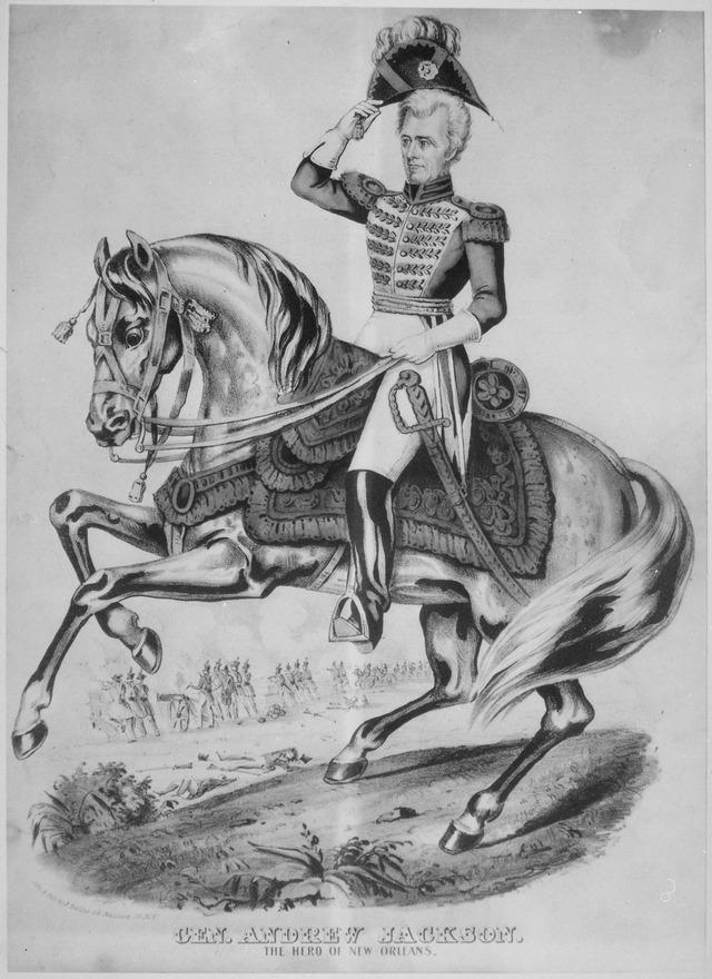 Andrew Jackson was my Great