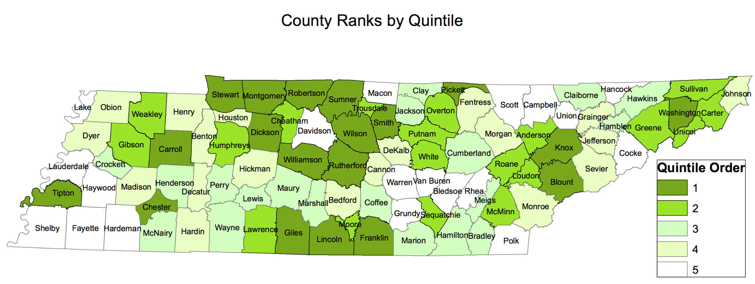 Tennessee Has A New List Of Best And Worst Counties For Children ...
