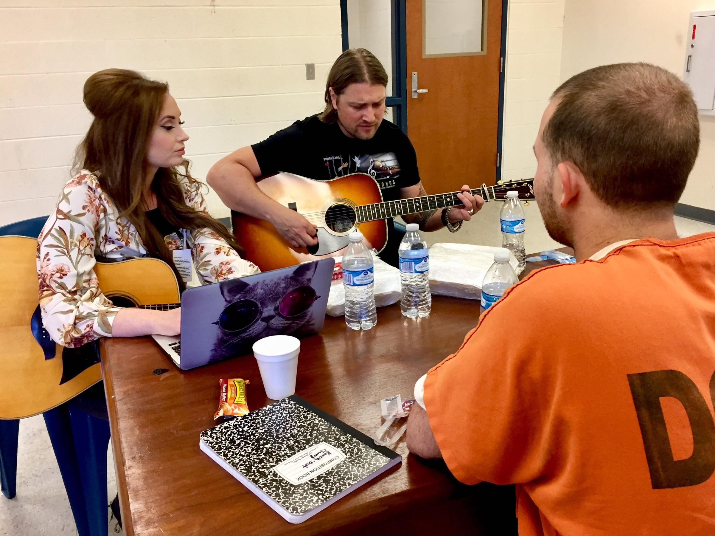 At The Nashville Jail, Inmates And Songwriters Come Together