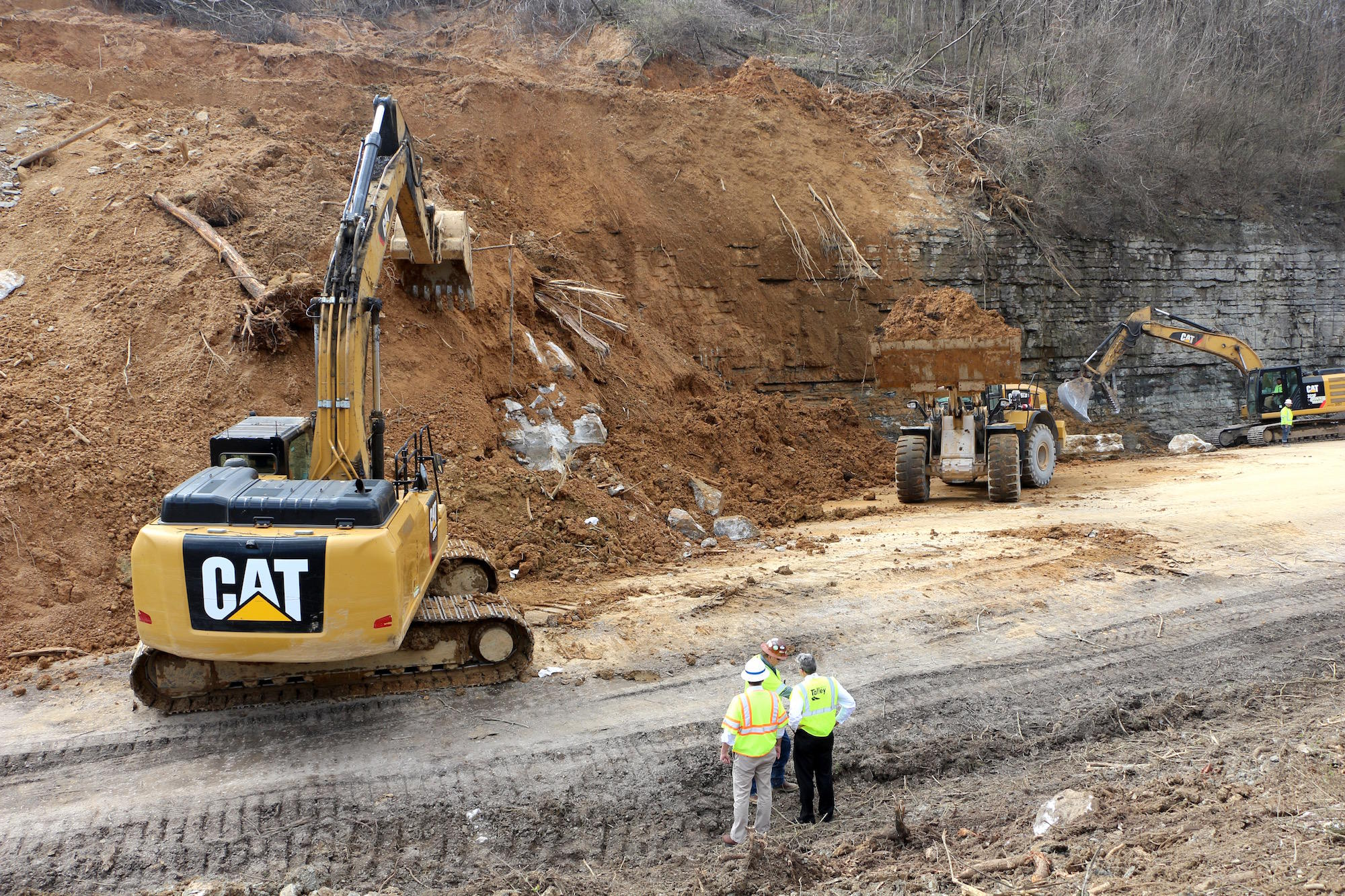 I-24 Mudslide Will Require A Much Longer Cleanup Than Originally