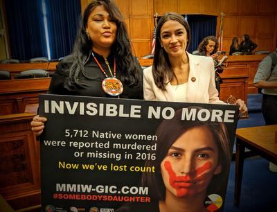 New Billboards Highlight Issue Of Missing And Murdered Indigenous