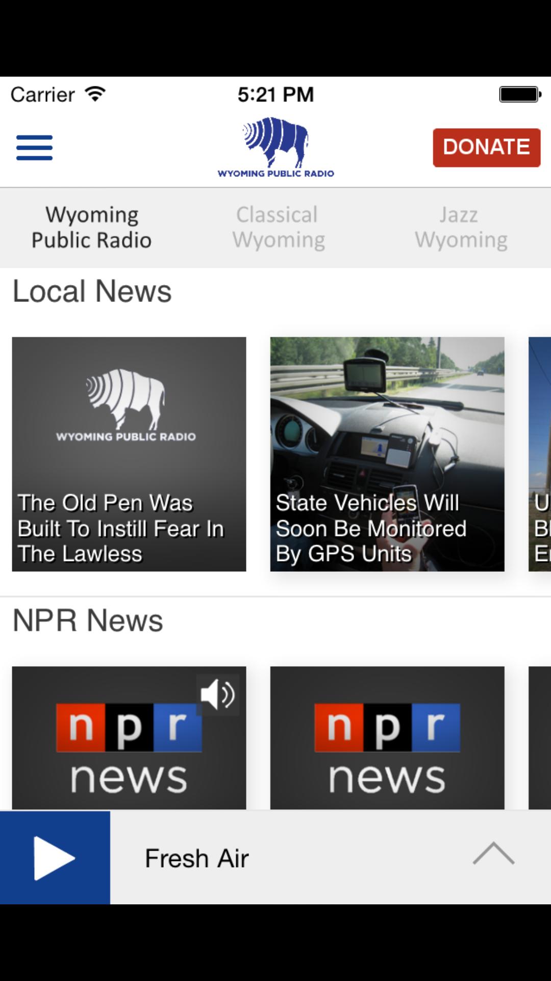 Wyoming Public Radio Mobile App | Wyoming Public Media