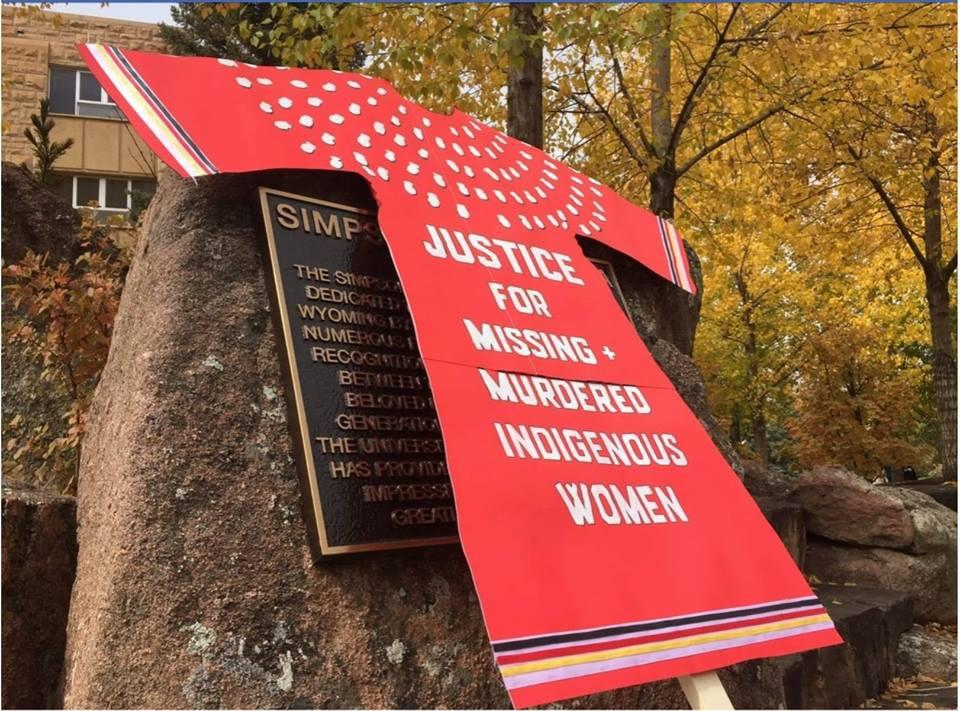 Missing And Murdered Indigenous Women's March Brings